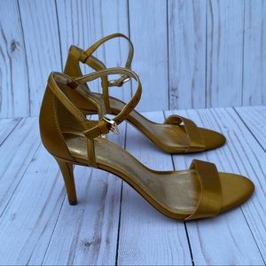 Authentic Gold Mid Sandals Pumps